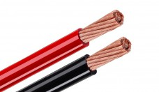 Tchernov Cable Standard DC Power 2 AWG red