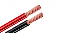 Tchernov Cable Standard DC Power 4 AWG red