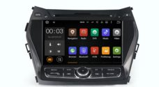 Штатная магнитола Parafar 4G/LTE для Hyundai Santa Fe c DVD на Android 7.1.1 (PF209D)