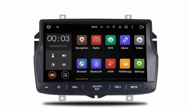 Штатная магнитола Parafar 4G/LTE для Lada Vesta c DVD на Android 7.1.1 (PF963)
