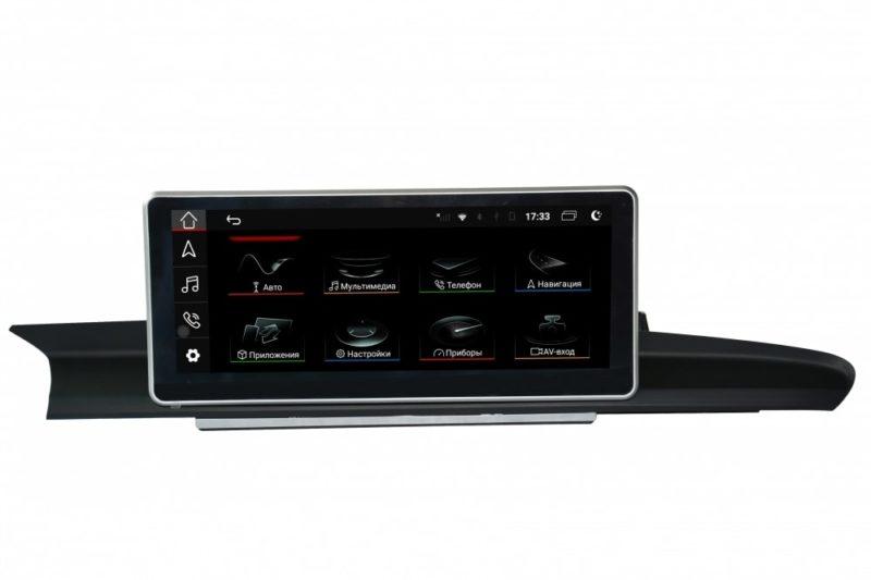 """Parafar для Audi A6/A7 (2012-2018) (без AUX, 2G MMI/3G MMI, высокая комплектация) экран 10.25"""" на Android 10.0 (PF1019HD-High)"""